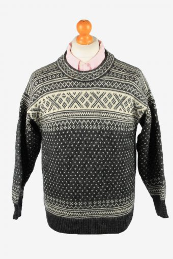Icelandic Jumper Nordic Style Grey M
