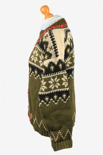 Vintage Kaara Gjose Womens Nordic Style Icelandic Cardigan 52 Multi -IL2183-148761