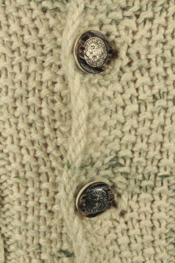 Vintage Mens Cable Button Up Cardigan S Multi -IL2212-148879