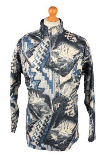Enrico Leoni Half Zip Mens Fleece Top Pullover XXL