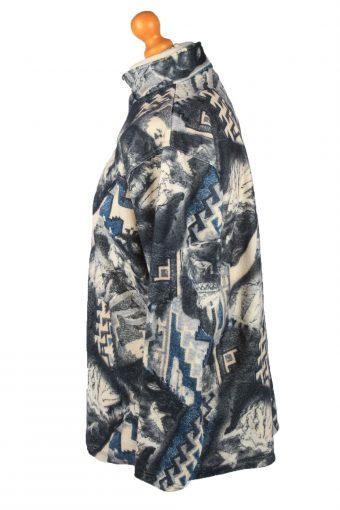 Vintage Enrico Leoni Half Zip Mens Fleece Top Pullover M Multi -SW2661-148385