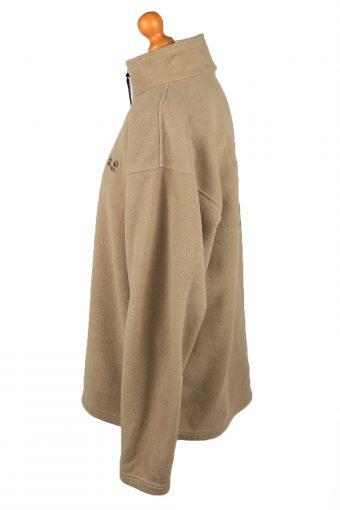 Vintage Jack Wolfskin Half Zip Mens Fleece Top Pullover XXL Camel -SW2664-148397