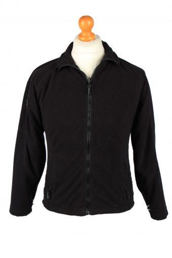 Helly Hansen Zip Up Mens Fleece Top Pullover Jacket Black S