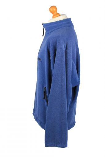 Vintage Helly Hansen Zip Up Mens Fleece Top Pullover Jacket XL Blue -SW2667-148409