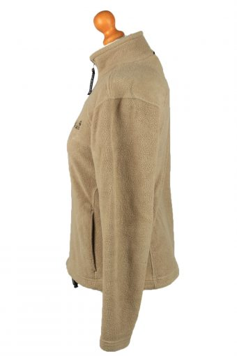 Vintage Jack Wolfskin Zip Up Womens Fleece Top Pullover Jacket 10 Camel -SW2670-148422