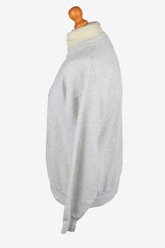 Vintage MC Sport Mens College Sweatshirt Top L Grey Marl -SW2673-149020