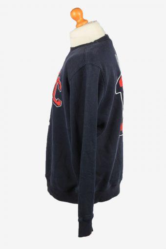 Vintage Reform Mens College Sweatshirt Top XL Navy -SW2680-149048