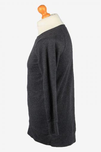 Vintage Old Navy Mens College Sweatshirt Top XS Dark Grey -SW2681-149052