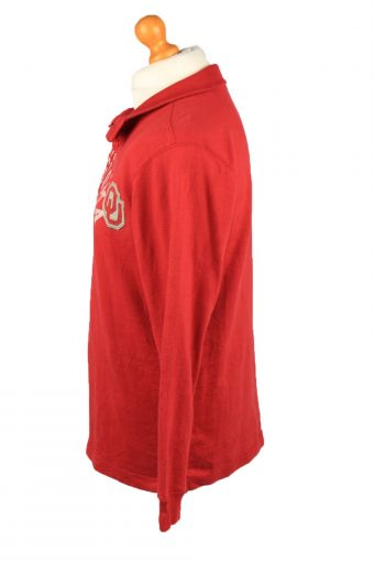 Vintage Gear For Sports Mens College Sweatshirt Top S Red -SW2683-149060