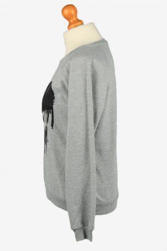 Vintage Disney Womens Crew Neck Sweatshirt Top M Grey -SW2689-149084