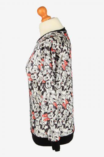 Vintage Disney Girls Crew Neck Sweatshirt Top 11-12 Y Multi -SW2694-149104