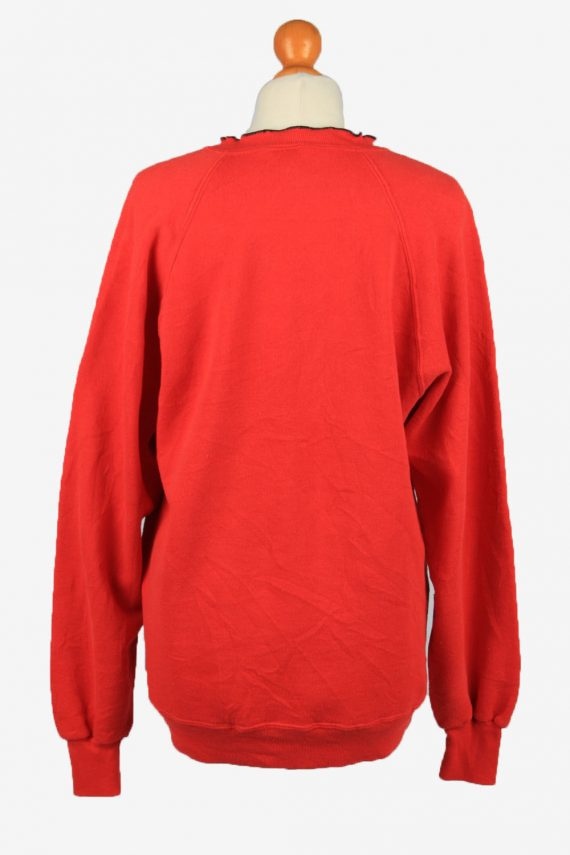 Vintage Jerzees Womens Crew Neck Sweatshirt Top XL Red -SW2696-149113