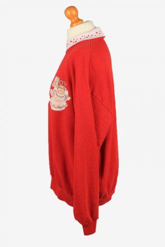 Vintage Jerzees Womens Crew Neck Sweatshirt Top XL Red -SW2700-149128
