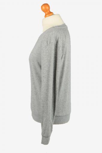 H&M Womens Crew Neck Sweatshirt Top S Grey -SW2703-149140