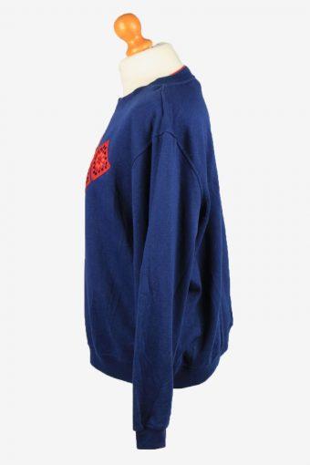 Vintage Rebecca Malone Womens Crew Neck Sweatshirt Top L Navy -SW2705-149148