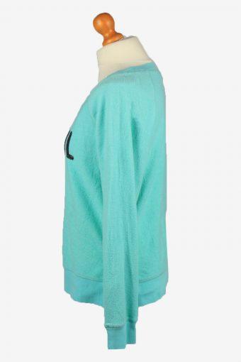 Vintage Xhilaration Womens Wide Neck Sleepwear Top M Green -SW2708-149160