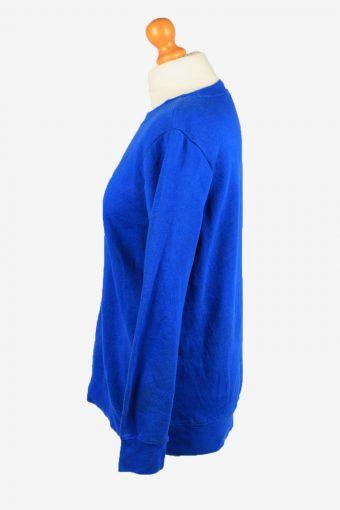 Vintage Holiday Editions Womens Crew Neck Sweatshirt Top M Blue -SW2709-149164