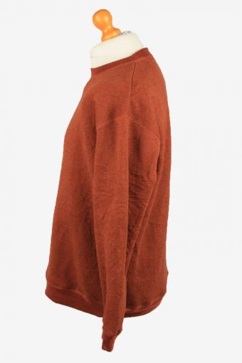 Vintage St John's Bay Mens College Sweatshirt Top M Terra Cotta -SW2715-149188