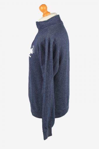 Vintage Jerzees Mens College Sweatshirt Top S Navy -SW2719-149204