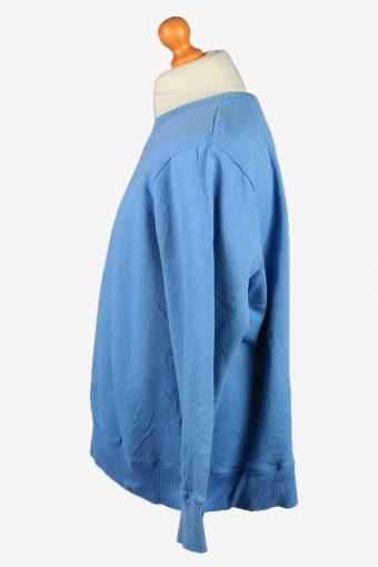 Vintage Just My Size Mens College Sweatshirt Top 2XL Blue -SW2721-149212