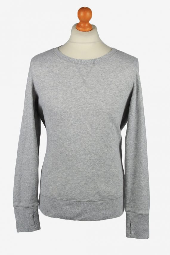 Vintage Tek Gear Mens College Sweatshirt Top L Grey -SW2724-0