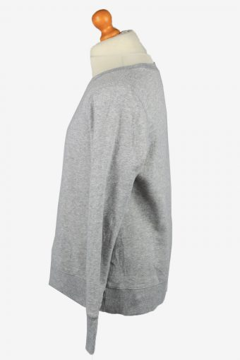 Vintage Tek Gear Mens College Sweatshirt Top L Grey -SW2724-149224