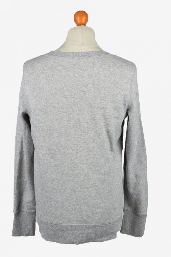 Vintage Tek Gear Mens College Sweatshirt Top L Grey -SW2724-149225