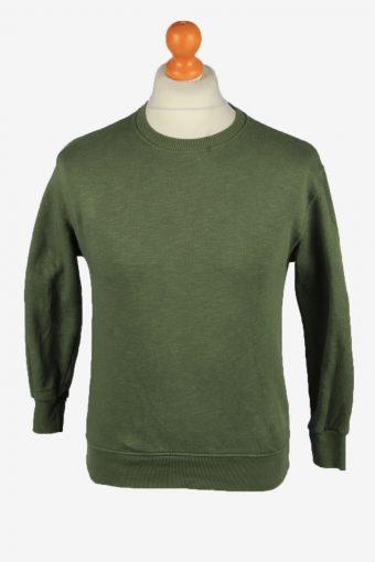 Zara Boys & Girls Sweatshirt Top Green 11-12 Years