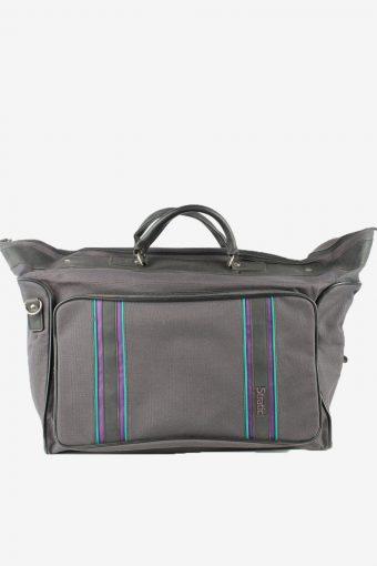 Stratic Travel Hand Bag Unisex Vintage 1970s Navy