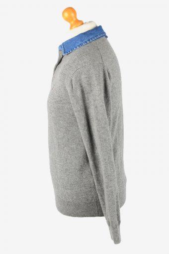 Gant Collared Jumper Sweater Vintage Mens M Grey -IL2345-152337