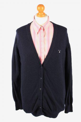 Gant Cardigan Pullover Womens Navy XL