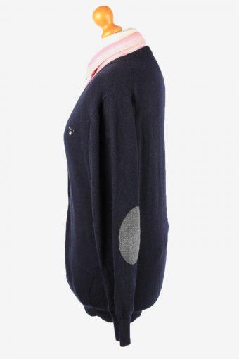 Gant Cardigan Pullover Vintage Womens XL Navy -IL2350-152357
