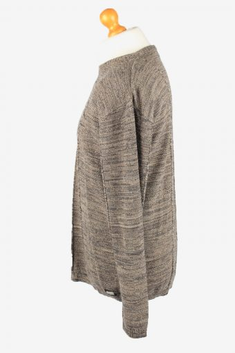 Armani Crew Neck Jumper Sweater Vintage Mens 3XL Brown -IL2361-152401