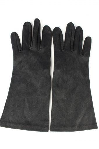 Dress Gloves Vintage Womens 6 in Black