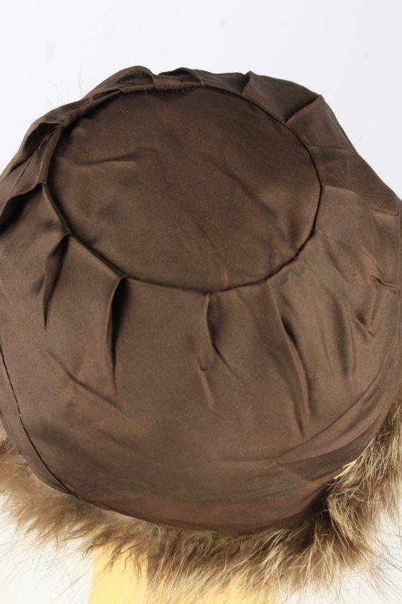Russian Fur Cossack Hat Vintage Womens Brown -HAT1835-151657