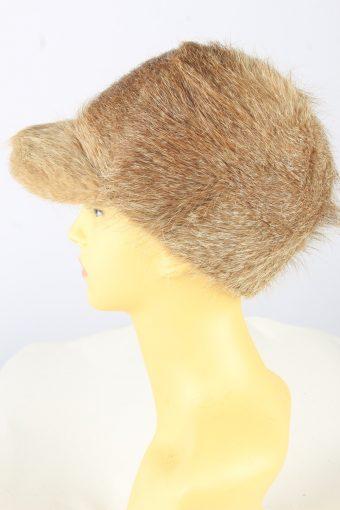 Russian Fur Cossack Hat Vintage Womens Brown -HAT1837-151663