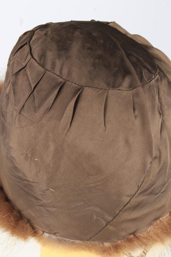 Russian Fur Ushanka Hat Vintage Womens Brown -HAT1841-151681