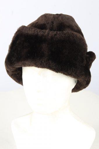 Genuine Fur Ushanka Hat Vintage Unisex