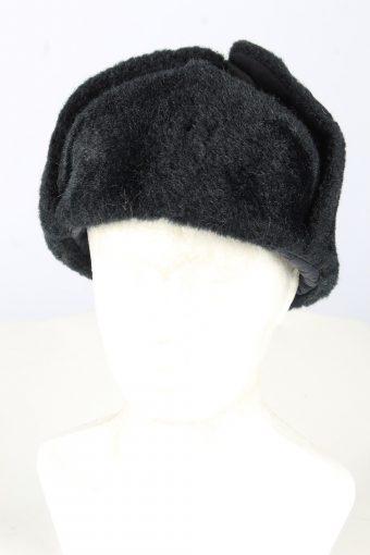 Russian Fur Ushanka Hat Vintage Unisex