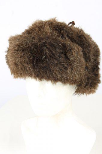 Fur Ushanka Hat Vintage Unisex