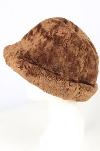 Fur Winter Cossack Hat Vintage Unisex Brown -HAT1913-152170