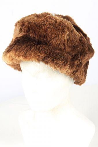 Furry Winter Hat Vintage Unisex