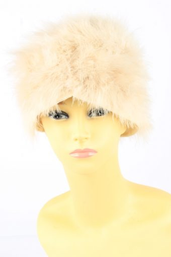 Feather Hat Vintage Womens