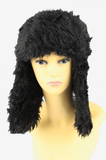 Russian Faux Fur Hat Vintage Womens