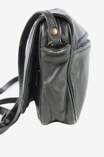 Leather Adjustable Shoulder Bag Womens Vintage 1990s Black -BG1205-154679