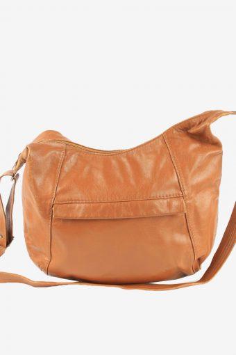 Leather Adjustable Shoulder Bag Womens Vintage 1990s Brown