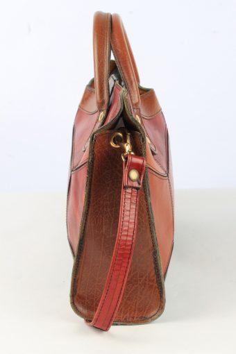 Leather Shoulder Bag Womens Vintage 1990s Multi -BG1222-154870