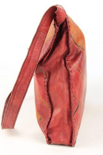 Leather Shoulder Bag Womens Vintage 1990s Multi -BG1223-154874