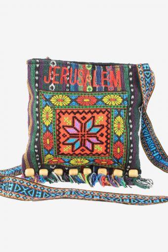 Rug Pattern Shoulder Bag Womens Vintage 1990s Multi