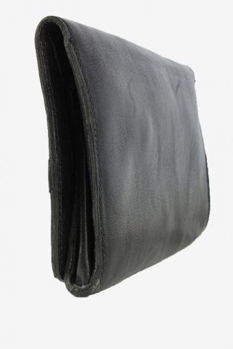 Leather Purse Womens Vintage 1990s Black -BG1242-154950